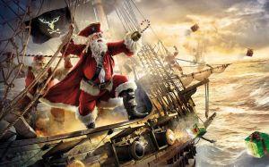 Papai Noel pirata