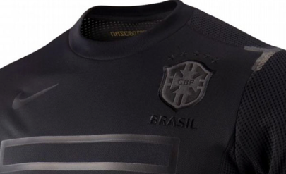 Camisa Brasil - Preta